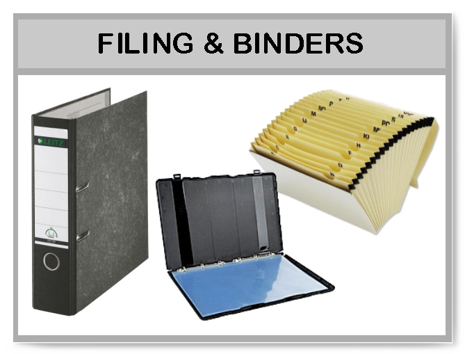 Filing and Binders