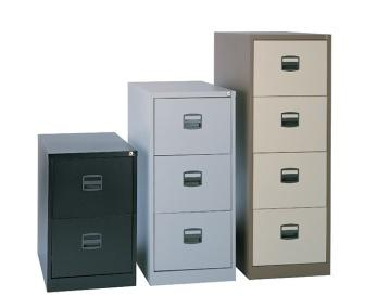 Office Metal 2-Draw Filing Cabinets, 3-Draw Filing Cabinets, 4-Draw Filing Cabinets in Chorley, Leyland and Preston