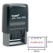 Trodat Stock Rubber Stamps